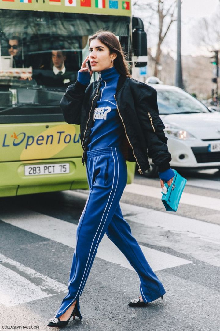 Talking about sporty street style