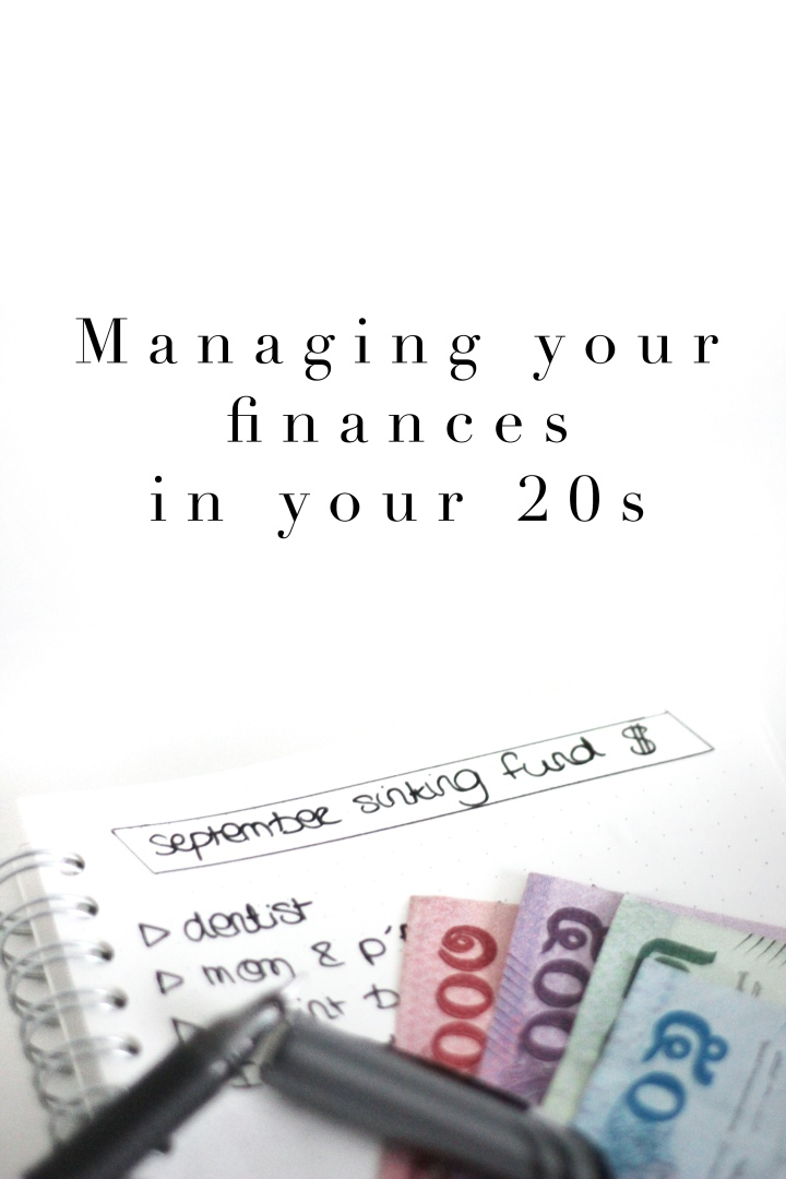 Managing finances & saving up in your 20s